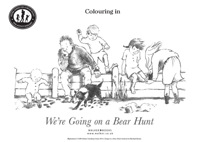 Colouring in activity sheet 1