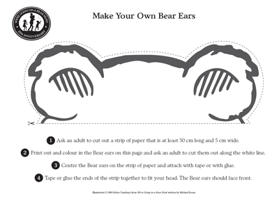 Make your own bear ears