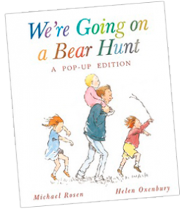 We're Going on a Bear Hunt Pop-Up Book Cover