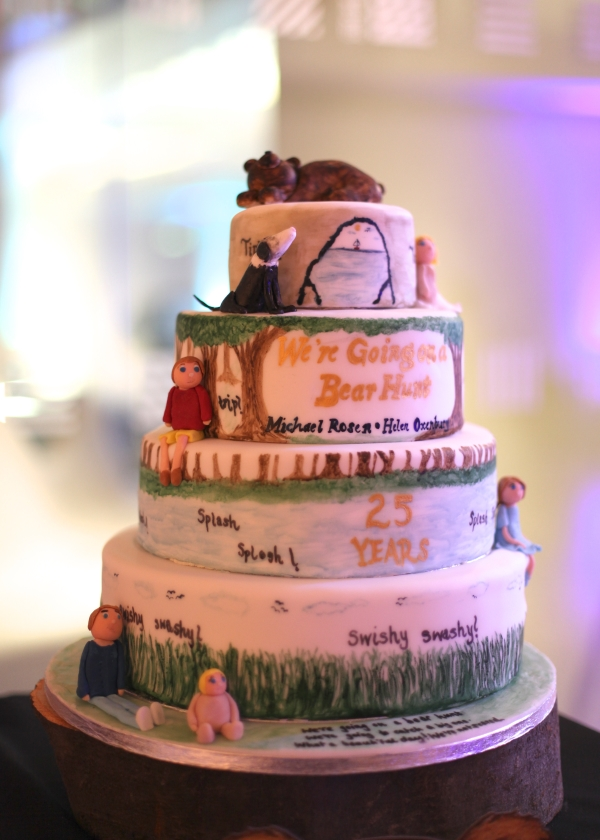 We're Going on a Bear Hunt Anniversary Cake